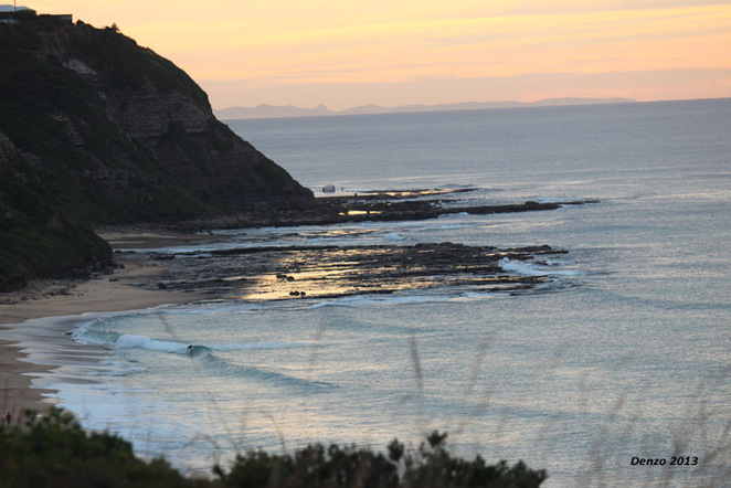 Newcastle Surfing Sand Glenrock