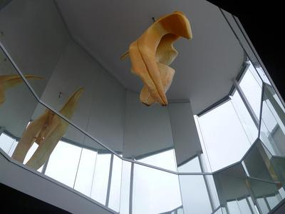 Sculpture in the foyer of the Wendouree Centre for Performing Arts