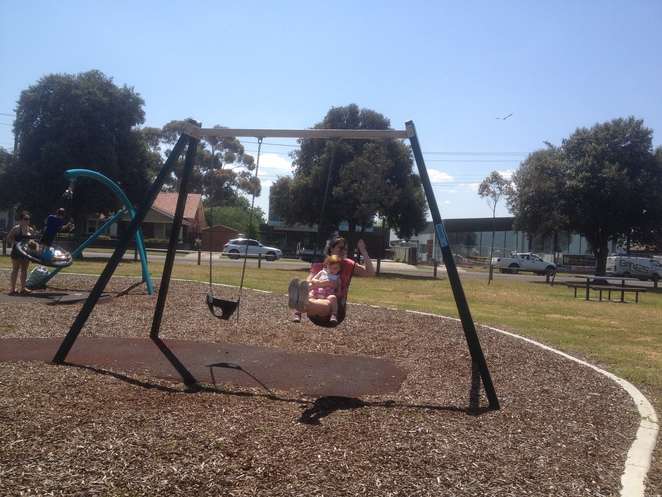 Swings at Moorpanyal Park