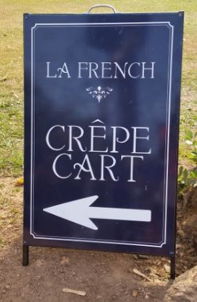 Pop up food cart, La French Crepe, crepes, Darwin, The Esplanade, Bicentennial Park