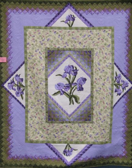 Purple quilt one of a kind