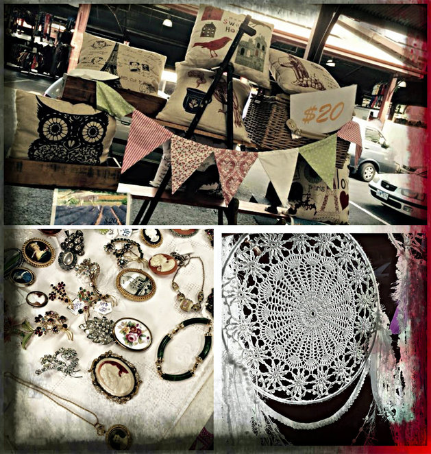 qvm brocante marche, vintage market, market, french, queen victoria market, c shed, gigi a la maison, frencheese, French inspired