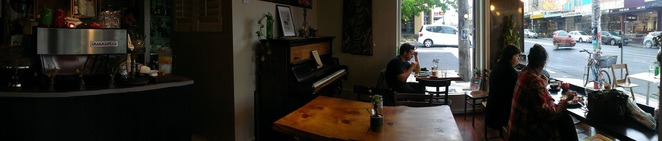 Rucker's Hill Cafe Panorama