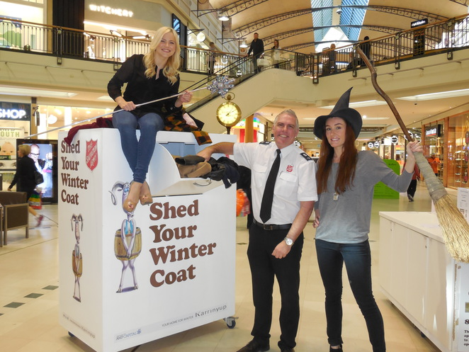 Salvation Army Shed Your Winter Coat Appeal