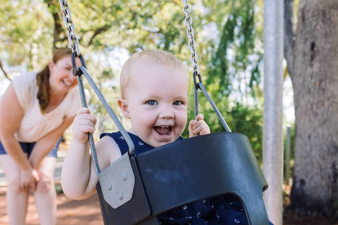 Sarita, Slater, Photography, photographer, Perth, family, lifestyle, portrait, park, swing