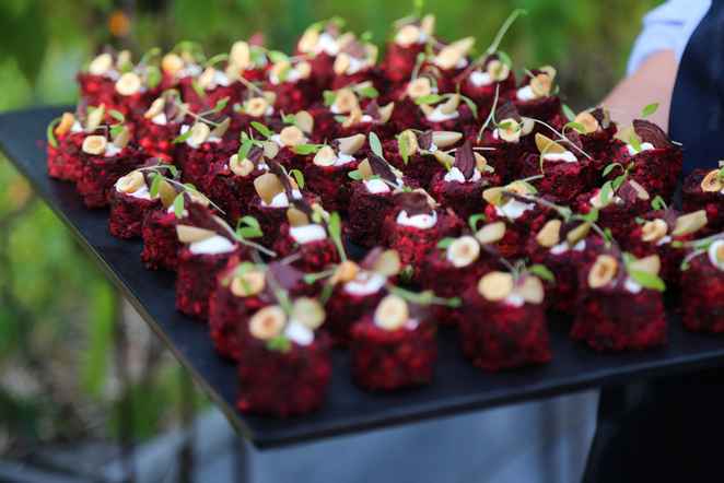 secret garden by tommy collins, tommy collins catering, melbourne venues, pop up patch melbourne fed square
