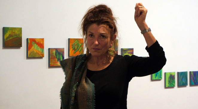 Artistic Director of the Stanthorpe Regional Art Gallery, Mary Findlay