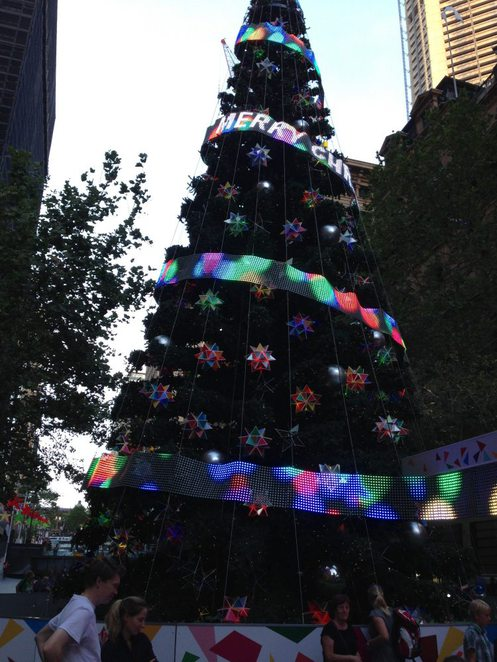 Sydney Christmas, Christmas Lights, Christmas Decorations, Martin Place