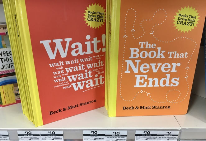 The Book That Never Ends, Big W, Children's books, image by Jade Jackson, Beck and Matt Stanton, Christmas books, cheap books for kids
