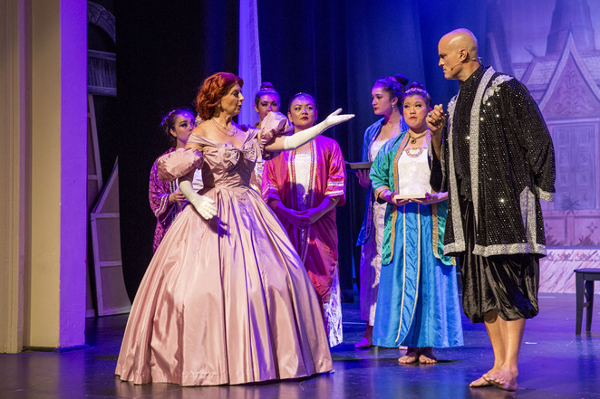 The King and I, Rockdale Musical Society, Stephen Halstead, Charmaine Gibbs, Rockdale Town Hall, Rodgers & Hammerstein, Musical