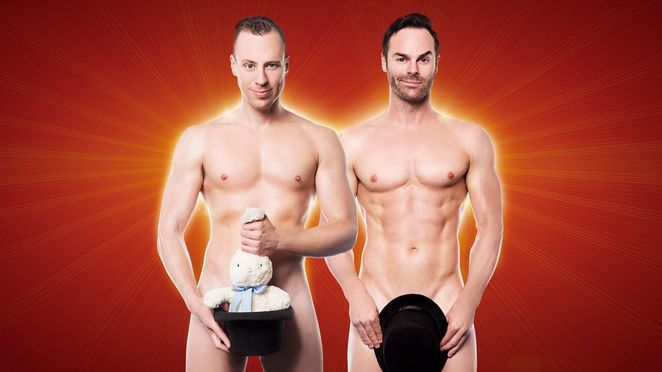 the naked magicians, comedy, magic, entertainment, comedy theatre, nudity, fun, nightlife