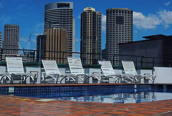 The Rocks, Sydney, Historical, Tourist, Building, Holiday Inn, rooftop pool