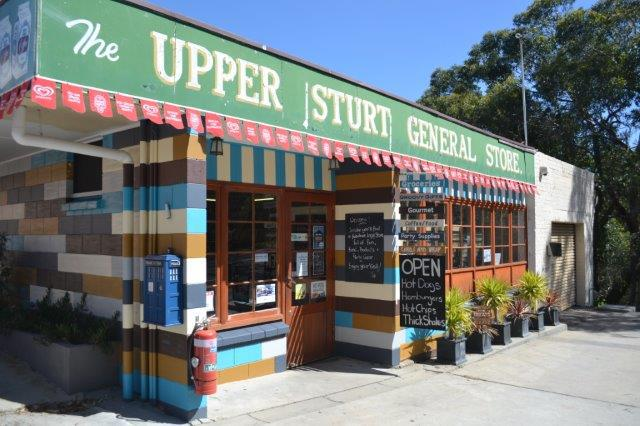 Upper Sturt General Store, TARDIS, party supplies, gifts, gadgets, cafe, corner store, hot food