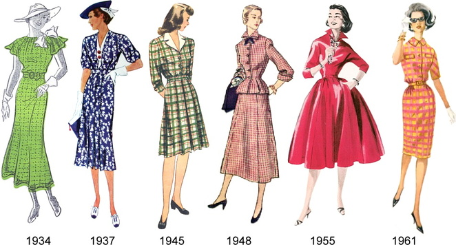 Vintage through the years