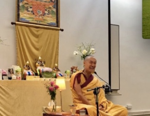 Weekend Hilltop Kadampa retreat Gen Kelsang Tonglam