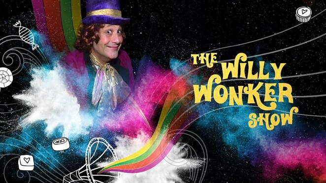 Willy Wonker Show, The Ginger Factory, Yandina, Easter school holidays, FREE event, confectionary creation, singing, dancing, excitement galore, twice daily, family day out