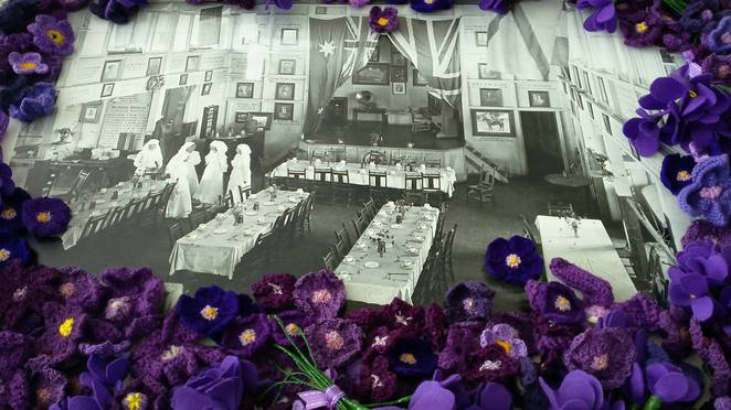 Violet Day Commemorations – Image Violet Day Facebook page