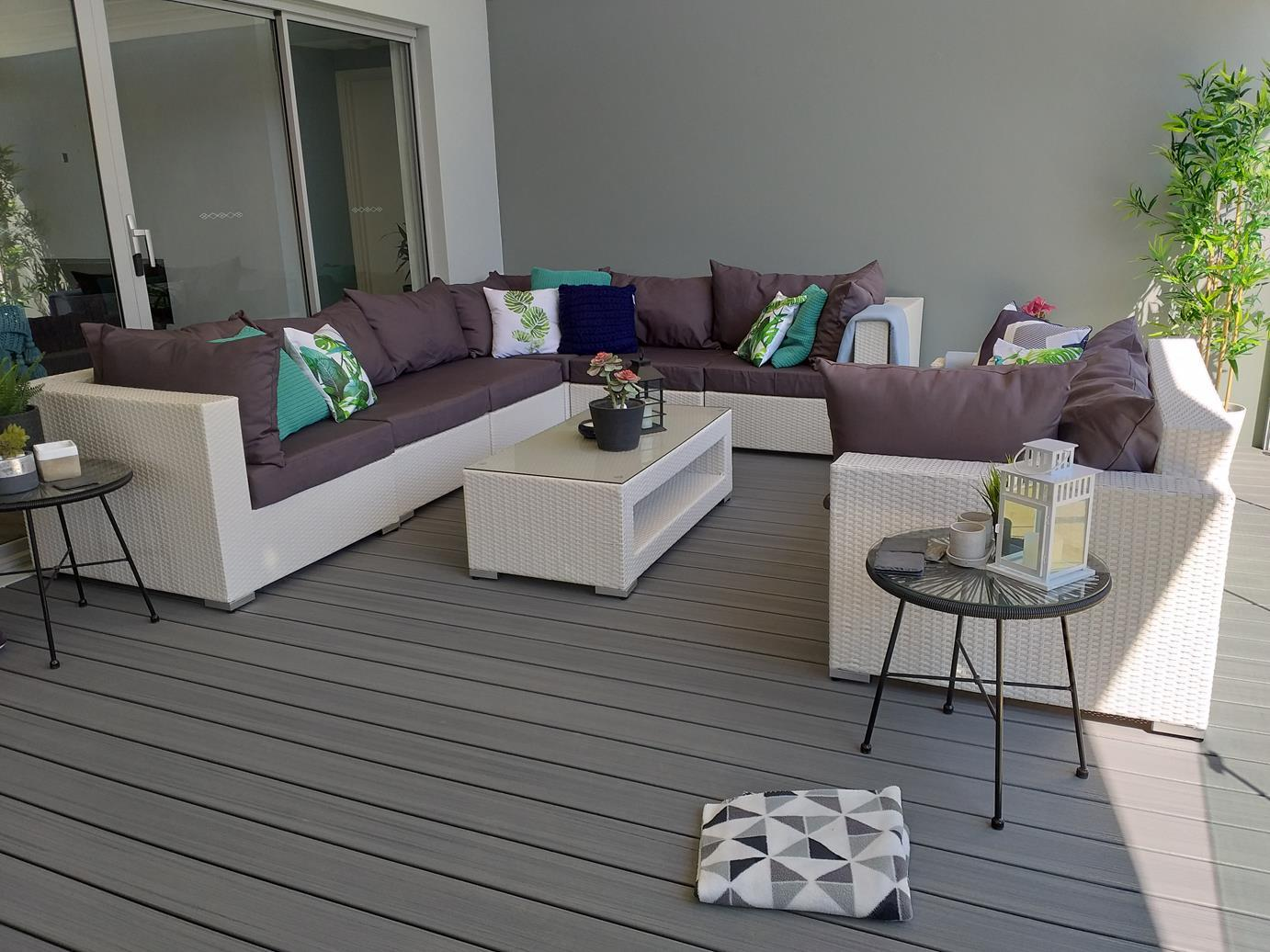 And with the festive season and summer in full swing theres no better time to turn your own backyard or patio into a spectacular place to relax and