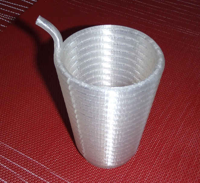 3D printer, cup, straw, bentleigh