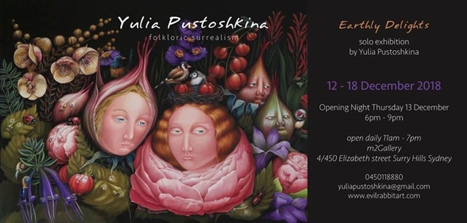 Art,exhibition,by,Yulia