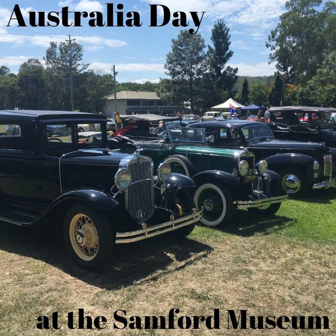 Australia Day Samford Museum family friendly
