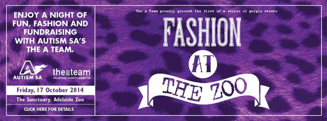 Autism SA, Fashion at the Zoo, fundraising, food, wine, animals, fashion