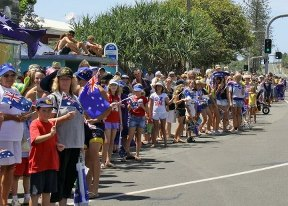 Be one of the thousands to celebrate Australia Day at Coolum/Image from See Coolum