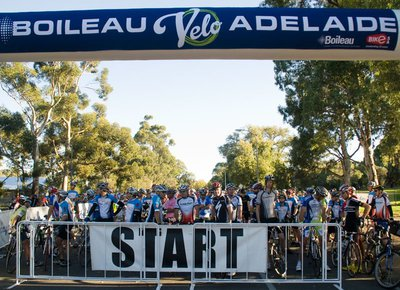 Boileau VeloAdelaide, bicycle events, Tour Down Under, bicycles, ride-in, Adelaide Hills