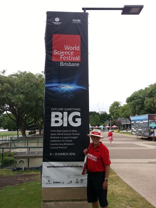 Brisbane Greeters,World Science Fair Brisbane,Street Science!