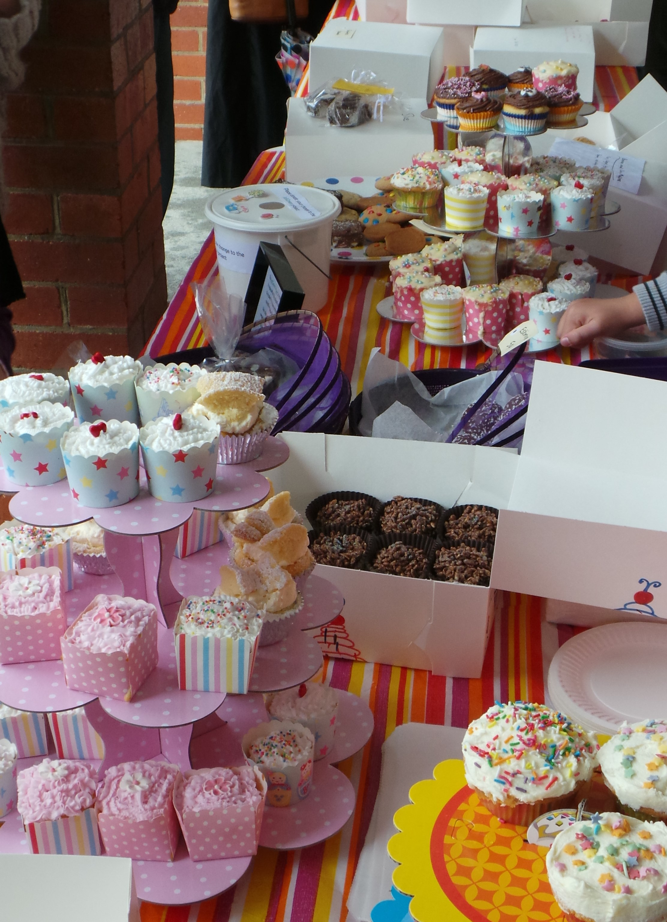 Top Tips for Running a Cake Stall - Everywhere