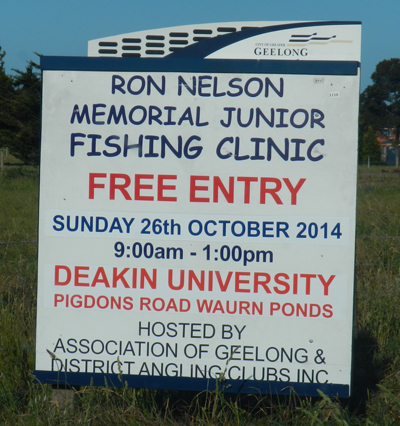 Ron Nelson Memorial Junior Fishing Clinic 2014