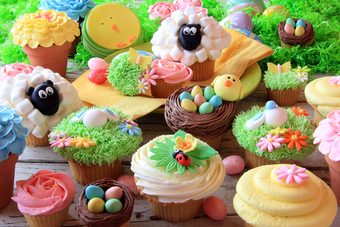 Easter Cupcake Classes, Julie's Place