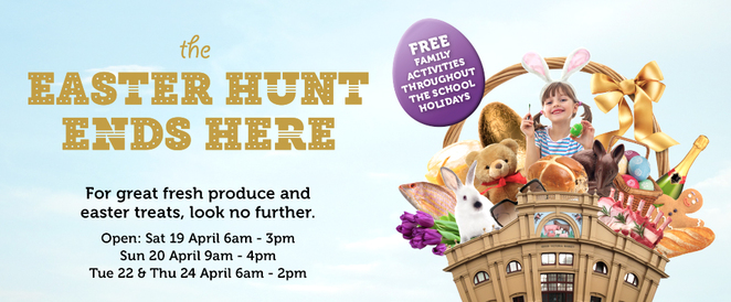 Free Easter events Melbourne, kids, free, queen victoria market