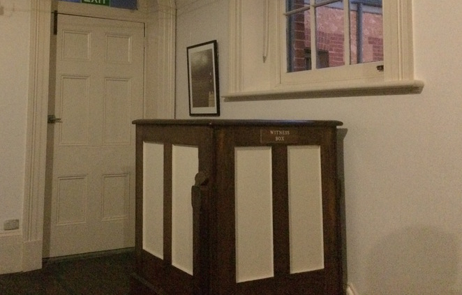 In the old Goolwa court house