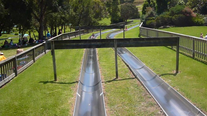 jamberoo action park, bobsled