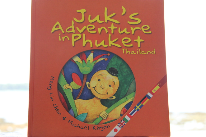 juk's adventure in phuket thailand, meng lin chen, michael kirjon, toddler story books, books for infants and toddlers, recommended books for toddlers, list of books for toddlers, educational books for toddlers, good books for toddlers, top 10 books for toddlers