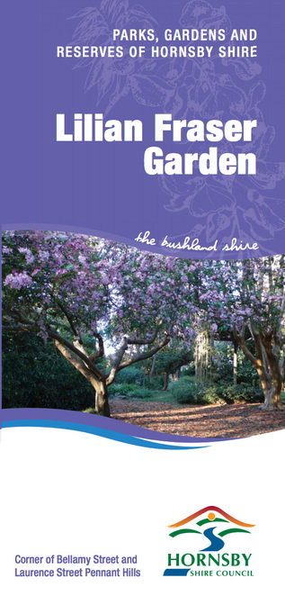 lilian fraser garden, sydney gardens, sydney parks, urban sanctuary, places to see in hornsby, places to see in sydney, places to see in pennant hills
