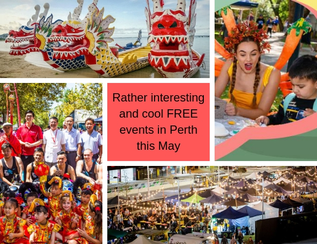 May free events in Perth