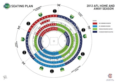 MCG Seating Plan