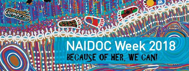 NAIDOC Week 2018, Exhibition: Bunjilaka, melbourne museum, bunjilaka aboriginal cultural centre, cultural event, community event, fun things to do, museums, exhibitions, NAIDOC, national aborigines and islanders day observance committee, because of her we can theme, aboriginal women, torres strait island women, barangaroo ngangamay film screening, women's cultural workshop, barangaroo ngangamay kid's dance workshop, nocturnal feature, thelma plum, mojo juju, kaiit, sovereign trax, intersection of art and historical collections, immigration museum, carlton, melbourne city