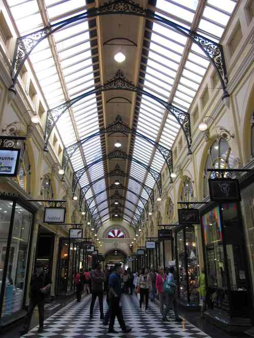 Opshops in Royal Arcade