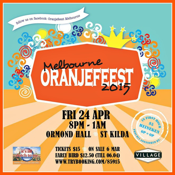 orangjeest, dutch orange day, klm dutch orange day, queensbridge square, southbank, dutch community, kings day, koningsdag, taste of holland, dutch food, poffertjes, face painting, orange dresscode.