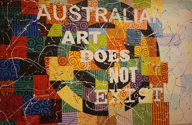 Richard Bell's Australian art does not exist