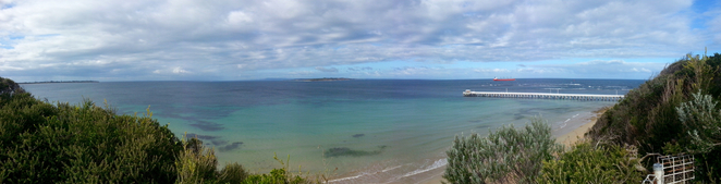 Rip View Lookout, Point Lonsdale, Bellarine, Victoria, view, tourist spot, photography, ocean views, beach,
