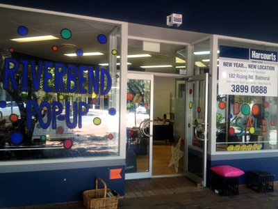 Riverbend Pop Up Store on Oxford Street