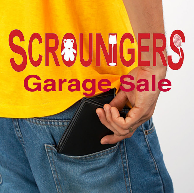 Scroungers Pre-Christmas Garage Sale 2017