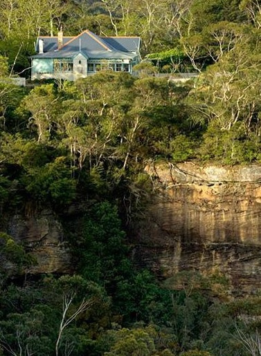 Solitary restaurant, lunches with a view, Blue Mountains
