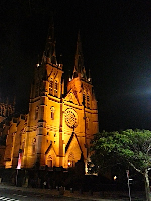 St Mary s Cathedral, Catholic, english gothic, Christian