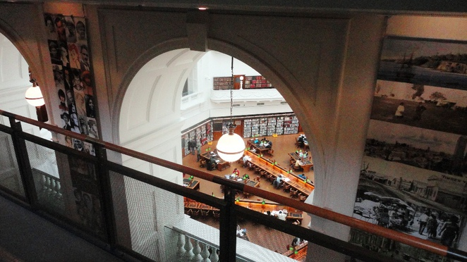 state library of victoria domed galleries, melbourne