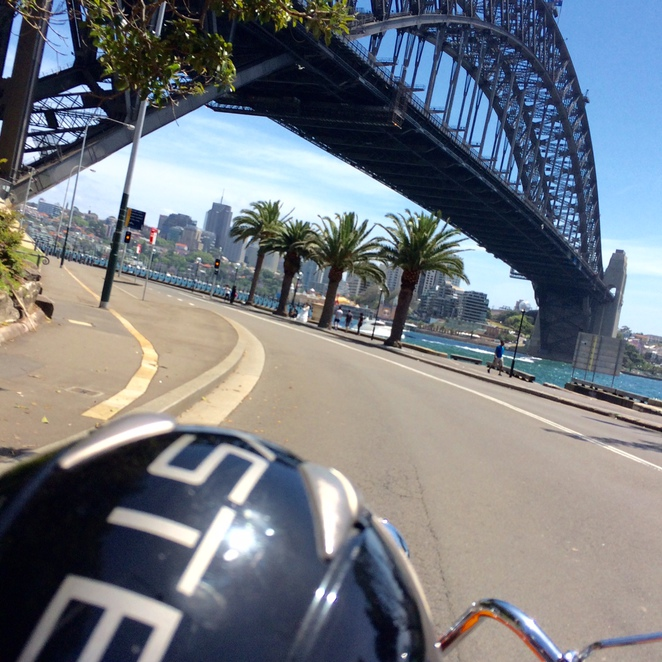 Sydney Harbour Bridge, motorcycle tours Sydney